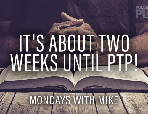 It's about Two Weeks Until PTP!